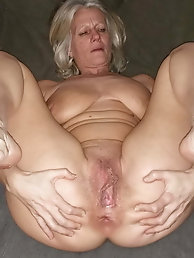 Sexy Grandma Legs, Spread and Ready to be Fuck 11