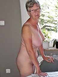 Slim mature prostitute is baring it all on camera