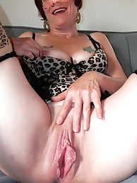 Sexy Grandma Legs, Spread and Ready to be Fuck 4