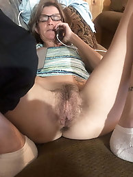 Sexy Grandma Legs, Spread and ready to be Fuck 3