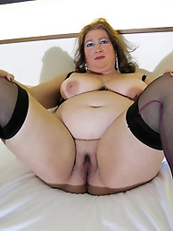 Mature moms are touching themselves