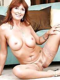 Hottest old M-I-L-F is seducing her husband